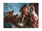 Heracles Delivering Hesione, C1708-1737 Giclee Print by Francois Lemoyne