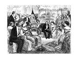 Circumstantial Evidence, 1879 Giclee Print by George Du Maurier