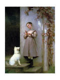 Playmates, 1868 Giclee Print by George Cochran Lambdin