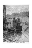 Tram Accident, Sevres, Paris, 1897 Giclee Print by F Meaulle
