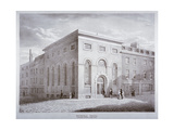 Whitefield Chapel on Charles Street, Westminster, London, C1841 Giclee Print by George Scharf