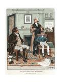 Phrenology, 1820 Giclee Print by Frank Dadd