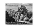 Landscape of the Island of Timor, 19th Century Giclee Print by Frederic Sorrieu