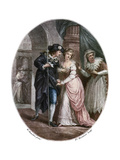 Scene from Shakespeare's Romeo and Juliet Giclee Print by Francesco Bartolozzi