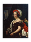Portrait of Queen Frederica of Hanover, (1778-184), 19th Century Giclee Print by Franz Kruger