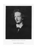 Algernon Charles Swinburne, English Poet, C1867 Giclee Print by Frederick Hollyer