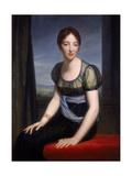 Portrait of Madame Regnault De Saint-Jean D'Angely, 1798 Giclee Print by Francois Pascal Simon Gerard