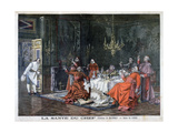An Eminent Gathering, 1898 Giclee Print by F Meaulle