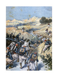 Battle with the Brigands, Algeria, 1892 Giclee Print by Frederic Lix