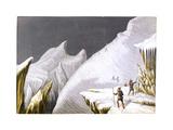 The Mur De La Cote, C1855 Giclee Print by George Baxter