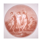 The Three Graces and Cupid, C1775-C1792 Giclee Print by Gavrila Ivanovitch Scorodomoff