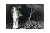 Riddle of Fear, 1819-1823 Giclée-Druck von Francisco de Goya