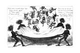 The Monster Sweeps, a Toss Up for the Derby, 19th Century Giclee Print by George Cruikshank