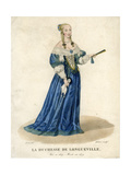 Anne Genevieve of Bourbon-Conde, Duchess of Longueville Giclee Print by  Gatine