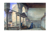 Loggia, Summer Reception, Memlook Radnau Bey's House, Cairo, 1870 Giclee Print by Frank Dillon