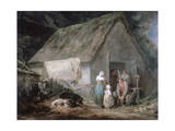 Morning: Higglers Preparing for Market, 1791 Giclee Print by George Morland