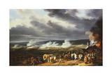 The Battle of Jemappes, 1792 Giclée-Druck von Horace Vernet