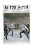 Henry-Picquart Duel, 1898 Giclee Print by Henri Meyer