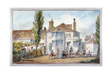 The Queen's Head and Artichoke Inn, Regents Park, London, C1810 Giclee Print by George Shepherd