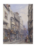 Bell Yard Near Chancery Lane, London, 1835 Giclee Print by George Sidney Shepherd