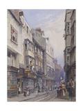 Bell Yard Near Chancery Lane, London, 1835 Giclee Print by George Sidney Shepherd