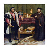 The Ambassadors, 1533 Giclee Print by Hans Holbein the Younger