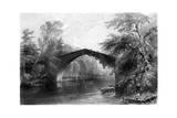 The Bridge of Doon, Ayrshire, 1838 Giclee Print by GK Richards
