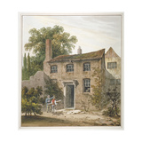 House in Holborn, London, 1815 Giclee Print by George Shepherd