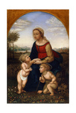 Virgin and Child with John the Baptist as a Boy, Early 19th Century Giclee Print by Franz Pforr