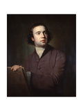 Thomas Barrow, a Portrait Painter, C1754-1802 Giclee Print by George Romney