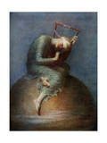 Hope, 1886 Giclee Print by George Frederick Watts