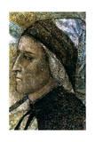 Portrait of Dante Alighieri, C1287-1337 Giclee Print by  Giotto