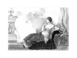 Mary Robinson (1757-180), English Poet and Novelist, 1830 Giclee Print by Henry Adlard