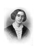 George Eliot, 19th Century English Novelist Giclee Print by Francois d'Albert Durade