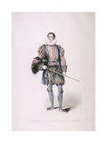 Gentleman in Cerimonial Costume, 1826 Giclee Print by Henry Meyer