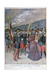 The Return of the 200 Regiment from Madagascar, 1896 Giclee Print by Henri Meyer