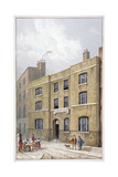 Building in Old Broad Street Which Bears the Pinners' Hall Sign, City of London, 1815 Giclee Print by George Shepherd