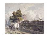 London Wall, London, 1811 Giclee Print by George Shepherd