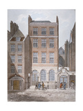 Snow's Banking House and Twining's Tea Merchants, Strand, Westminster, London, C1810 Giclee Print by George Shepherd