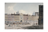 Smithfield Market, City of London, 1810 Giclee Print by George Shepherd