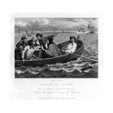 The Idle Prentice Turn'd Away and Sent to Sea, Plate V of Industry and Idleness, 1833 Impression giclée par Henry Adlard