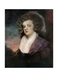 Renira De Tuyll, Wife of Captain John Albert Bentinck, Late 18th Century Giclee Print by George Romney
