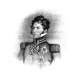 Prince Leopold George Christian Frederick of Saxe-Coburg-Saalfeld, 1816 Giclee Print by Henry Meyer