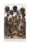 Australian Inhabitants, 1800-1850 Giclee Print by G Mutzel