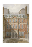 Beaufort Buildings, Strand, Westminster, London, C1810 Giclee Print by George Shepherd