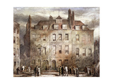 Sheriffs Court, Red Lion Square, Holborn, London, C1828 Giclee Print by George Sidney Shepherd