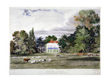 Old Park, Clapham, London, C1830 Giclee Print by Frederick Mackenzie