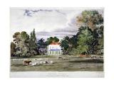 Old Park, Clapham, London, C1830 Giclee Print by Frederick Mackenzie
