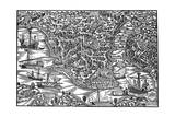 Constantinople, Mid 16th Century Giclee Print by Giovanni Andrea Vavassori