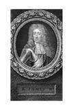 King James II of England Giclée-Druck von George Vertue